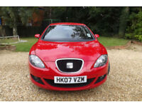 2007 57 Seat Leon 1.9TDI Sport 5dr DIESEL MEGA ECONOMY CHEAP ROAD TAX BAND CD