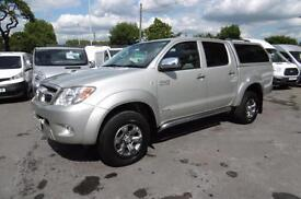 2008 TOYOTA HI-LUX INVINCIBLE 3.0 D-4D 4X4 D/CAB AUTOMATIC IN SILVER WITH FULL T