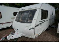 2007 ABBEY FREESTYLE 470 2 BERTH CARAVAN - END WASHROOM - GREAT SPEC