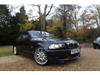 2003 E46 BMW 325 Ci M Sport 2.5i 192 BHP COUPE FSH CREAM BEIGE SPORTS LEATHER 18