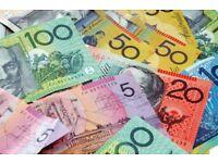 $320 AUD Australian Dollars. Travel money. SYDNEY, MELBOURNE, CAIRNS