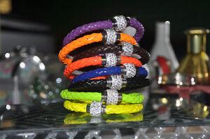 Bracelet magnétique multicolore