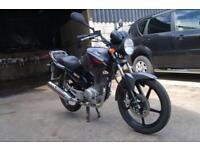 2013 YAMAHA YBR 125 LEARNER LEGAL CRUISER MOTORBIKE ONLY 10K MILES BLACK / GREY