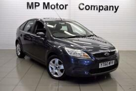2010 60 FORD FOCUS 1.6 STYLE TDCI 5D 90 BHP DIESEL HATCH, 83-000M SH,4 STAMPS,