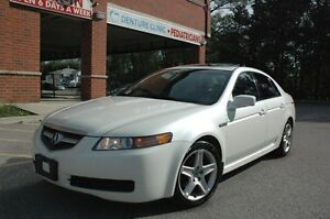 2005 ACURA TL 4DR  LEATHER/SUNROOF/BLUETOOTH  CERTIFIED & E-TEST