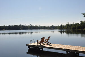 Lost Dock at Madawaska River