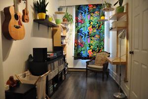 Appartement meublé à sous-louer en plein coeur du Plateau