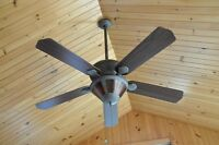 Grand ventilateur 5 palmes, 3 vitesses - NEUF...