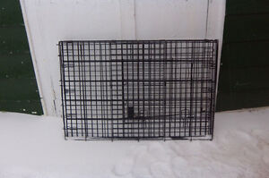 3 pet carriers / large dog crate.