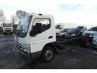 2010 60 MITSUBISHI FUSO CANTER 7C15 3.0 TD 7.5 TON CHASSIS CAB RECOVERY HORSEBOX
