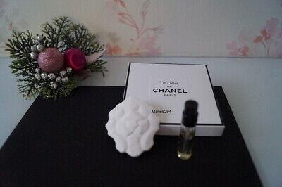 NEW LE LION DE CHANEL LES EXCLUSIFS  Céramique + mini Vapo EAU de PARFUM NEUF