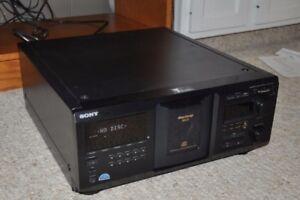 SONY 400 Mega Disc CD Changer