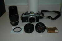 Nikon Lenses and Vivitar filter.  SELLING TOGETHER OR SEPARATE