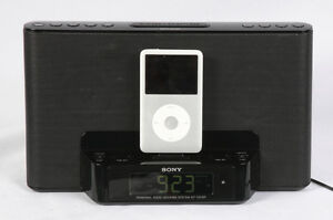 SONY ICF-CS15iP DREAM MACHINE SPEAKER DOCK  CLOCK RADIO FOR iPOD