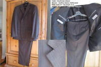 MEN'S QUALITY SUITS AND PANTS