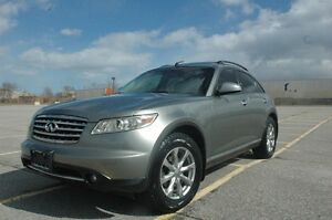 2007 INFINITI FX35 AWD LEATHER/ROOF/BLUETOOTH/BACKUP CAMERA