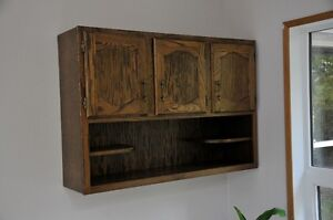 Vintage wall cabinet