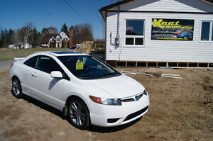 2008 Honda Civic SI 2L COUPE2 years warranty  LIKE NEW