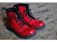 Dr Martens boots size 3 red