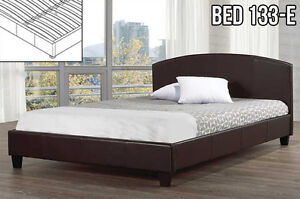 Upholstered Platform Bed (133) LOWEST MARK-UPS IN CALGARY!