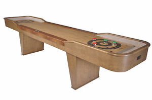WE HAVE A TRUCKLOAD OF BRAND NEW SHUFFLEBOARDS READY TO GO JUST