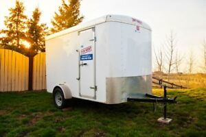Small utility trailers for rent