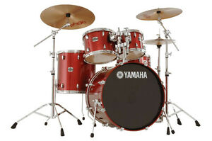 Yamaha Stage Custom 5pcs set Including all hardware