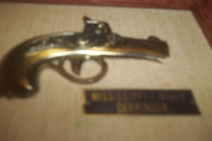 Vintage Gun- decorati.- Vintage Music Boxes and small collection