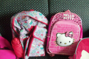 2 new girls backpack s with tags