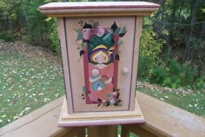 Curio Display Table or Wall Cabinet--Great for Collectibles,etc!