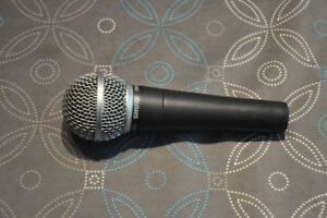 SHURE  SM58 Uniderectional Dynamic Mic