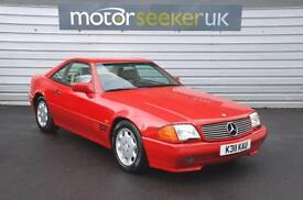 1993 Mercedes Benz SL Class 300 SL AUTO only 73000 miles with service history...
