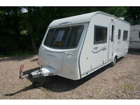 2009 COACHMAN VIP535 4 BERTH CARAVAN - FIXED BED - TOP SPEC - MOVER -