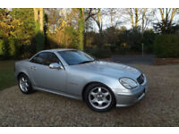 2002 Mercedes-Benz SLK230 Kompressor 2.3 AUTOMATIC 197 BHP 72K MEGA LOW MILES