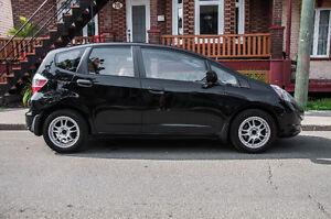 2009 Honda Fit noir