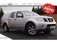 Nissan Navara NO VAT AIR CON ALLOY WHEELS 4X4 COLOUR CODED TRUCKMAN TOP DCI ACEN