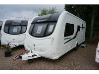 2011 SWIFT CHALLENGER 530 SR - 4 BERTH CARAVAN - END WASHROOM - SUNROOF - MOVER