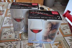 Lead free crystal wine glasses ☆NEW☆