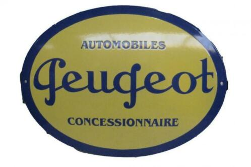 Peugeot concessionnaire Emaille bord