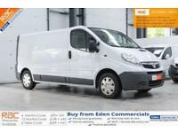 2013 13 VAUXHALL VIVARO 2.0 2900 CDTI 1D 115 LONG WHEEL BASE LWB PANEL VAN