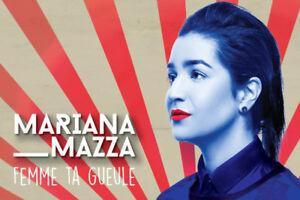 3 billets pour Mariana Mazza à Rivière-du-Loup