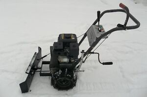 **UNIQUE ONE OF A KIND** (HONDA POWERED) SNOW-PLOW
