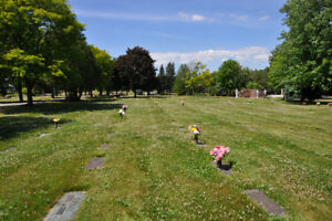 Cemetery Plot-Beautiful Mount Lawn Memorial Gardens-Whitby