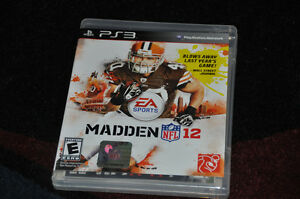 Madden 12 for PS3