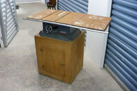Table Saw AS IS Used Power Tool Wood Base Electric