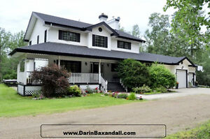 Custom Built 2 Storey Nestled on 2 Acres!