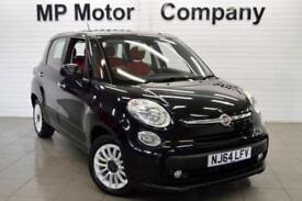 2014 64 FIAT 500L 1.2 MULTIJET EASY 85 BHP 5DR 5SP ECO DIESEL MPV,BLACK,49,000M