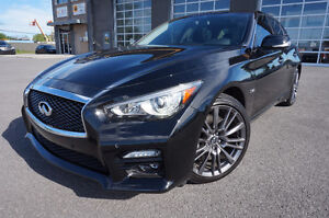 INFINITI Q50S 2016 3.0L TWIN TURBO 400HP RED SPORT 689$/MOIS