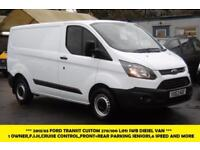 2013 FORD TRANSIT CUSTOM 270 L1H1 SWB DIESEL VAN 1 OWNER WITH CRUISE CONTROL,FRO