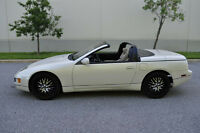 Reduced 1994 Rare Pearl white Convertible 300zx